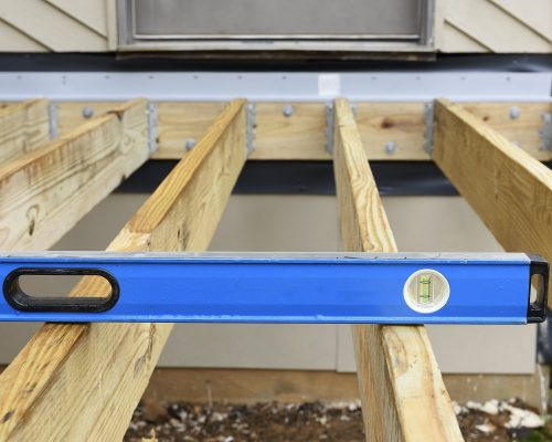 How to Install Deck Joists & Deck Rim Plates