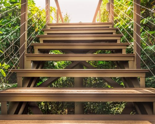 How to Build Deck Stairs & Install Deck Stair Stringers